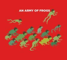 An Army of Frogs One Piece - Short Sleeve