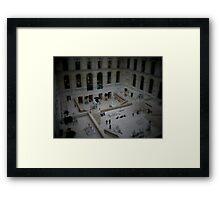Mini Plaza Framed Print