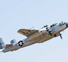 Pacific Princess B-25 by gfydad