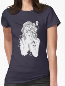 Shintaro Kago / Flying Lotus - You're Dead Womens Fitted T-Shirt