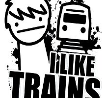 i like a trains bitch by gastonalagon