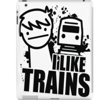 i like a trains bitch iPad Case/Skin