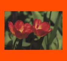 Fiery Tulips Kids Clothes