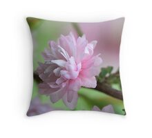 Precious Pink Throw Pillow