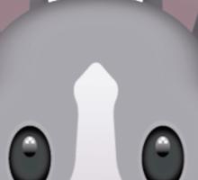 Bunny Emoji Sticker