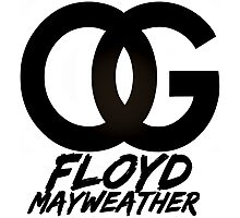 OG Floyd Mayweather (Limited Edition) Photographic Print