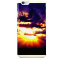 Blessed Is The Man That Maketh The Lord His Trust iPhone Case/Skin