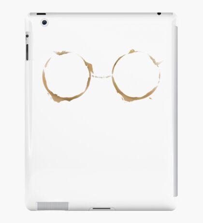 Coffee Ring-My Morning Goggles iPad Case/Skin