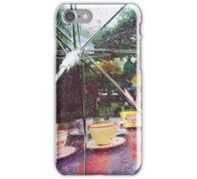 Rainy Mad Tea Party iPhone Case/Skin