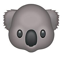 Koala Emoji by Vintagee