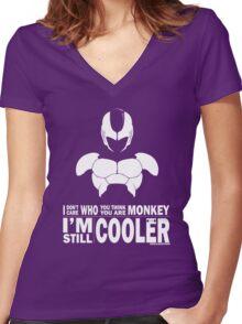 Cooler - Still Cooler Women's Fitted V-Neck T-Shirt