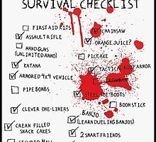 Z-Day Checklist by APerson22