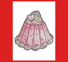 Cute pink jelly pudding Baby Tee