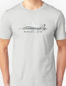 MIG-29 Soviet Fighter T-Shirt