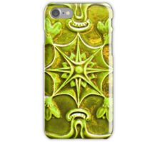 bas relief tile iPhone Case/Skin