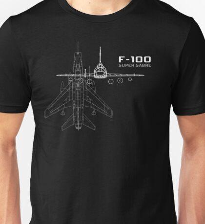 F-100 Super Sabre Unisex T-Shirt