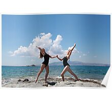 Naxos beach Poster