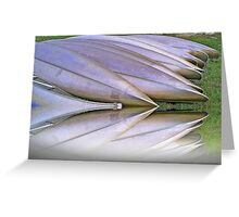 Canoes  Ready                           Greeting Card