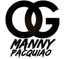 OG Manny Pacquiao (Limited Edition) Photographic Print