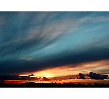 Rolling Skies Photographic Print