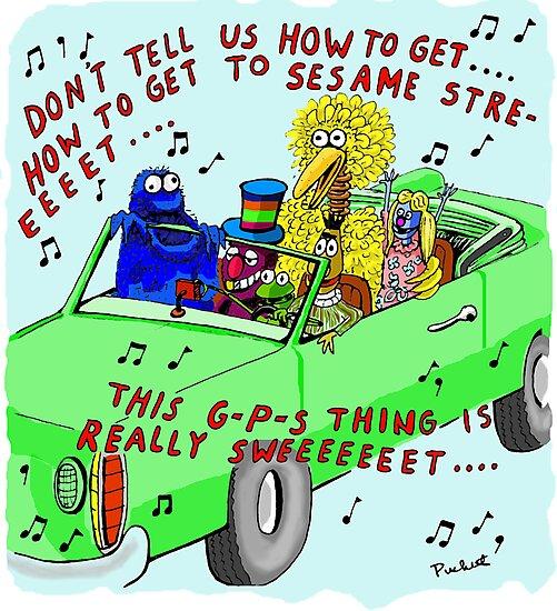sesame street sing-along by weirdpuckett