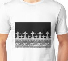 Abstract Venetian Architectural Details in Black and White  Unisex T-Shirt
