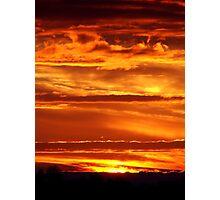Blazing Skies Photographic Print