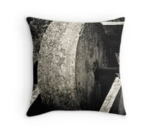 Agricultural press Throw Pillow