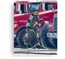 Fireman Las Vegas Canvas Print