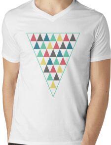 Pyramid Mens V-Neck T-Shirt