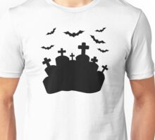 Cemetery graveyard Unisex T-Shirt