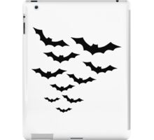 Black bats iPad Case/Skin