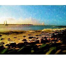 Coastal Bliss Photographic Print
