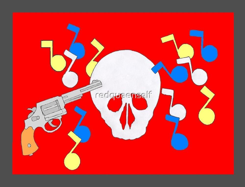 Guns Kill, not music by redqueenself
