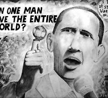 Barack Save World? by weirdpuckett