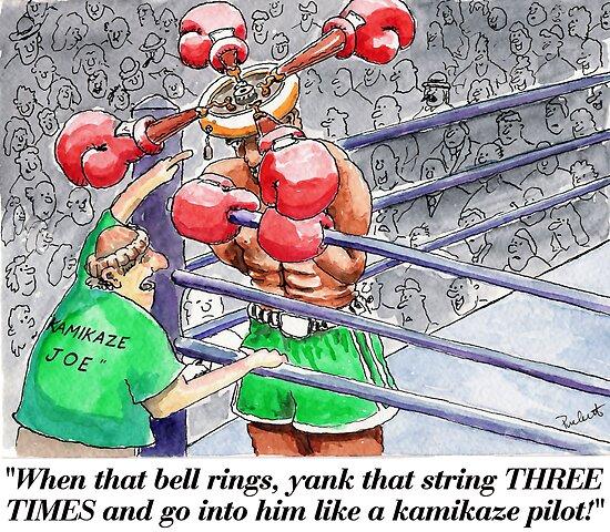Boxing Fans by weirdpuckett