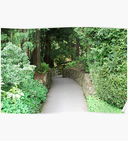 Path to Sunken Garden... Poster