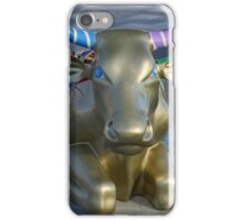 Let's Mooooooove Ahead Together, Ebrington, Derry iPhone Case/Skin