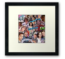 Malcolm In The Middle  Framed Print