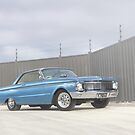 Blue Ford Falcon XP Coupe by John Jovic