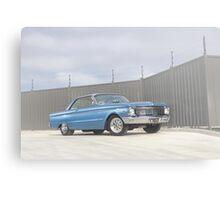 Blue Ford Falcon XP Coupe Canvas Print