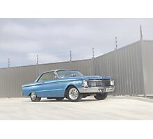 Blue Ford Falcon XP Coupe Photographic Print