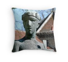 The Saint Throw Pillow