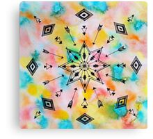 Pattern Play, Arrows and Angles Canvas Print
