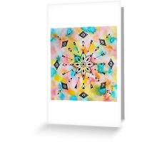 Pattern Play, Arrows and Angles Greeting Card