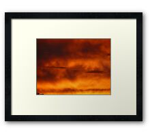 Sunrise Detail Framed Print