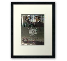 Doctor Who - Eleven Framed Print