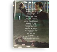 Doctor Who - Eleven Canvas Print