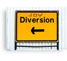 Joy Diversions Canvas Print