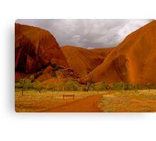 Uluru III Canvas Print